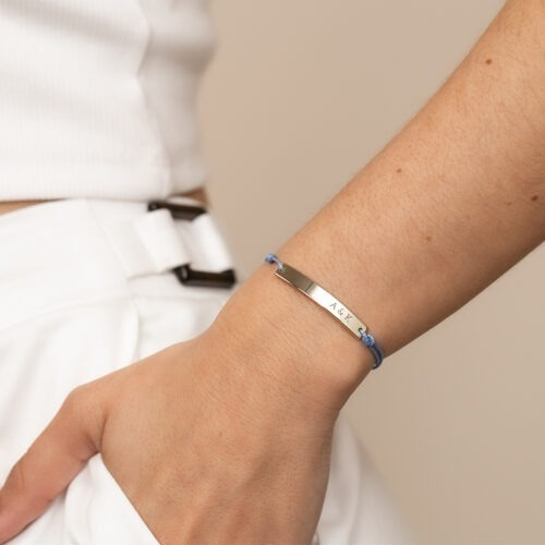 Personalisiertes Armband zur Gravur von Namen und Initialen