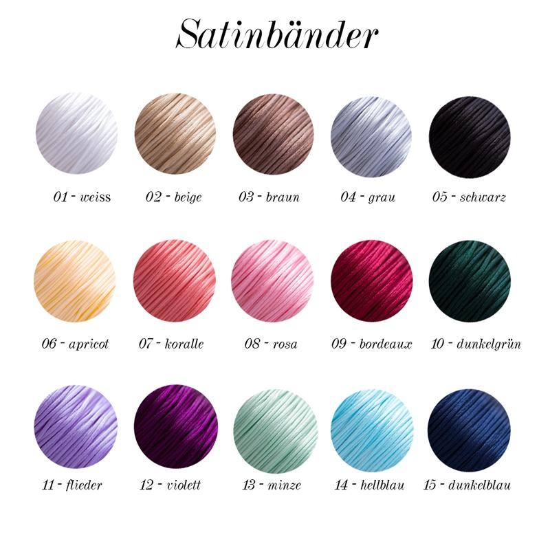 Satinbänder Farbauswahl