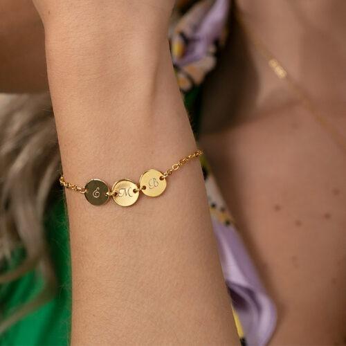 Armband mit Namen der Kinder