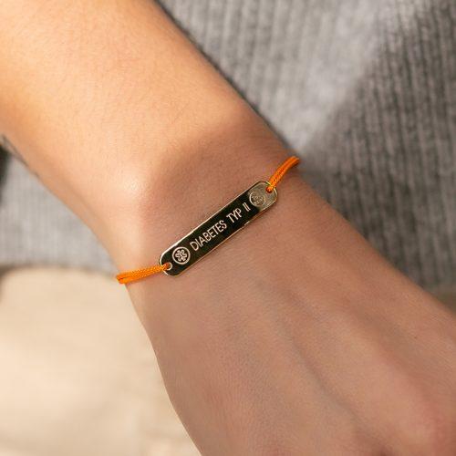 SOS Armband mit deinen Daten für den Notfall