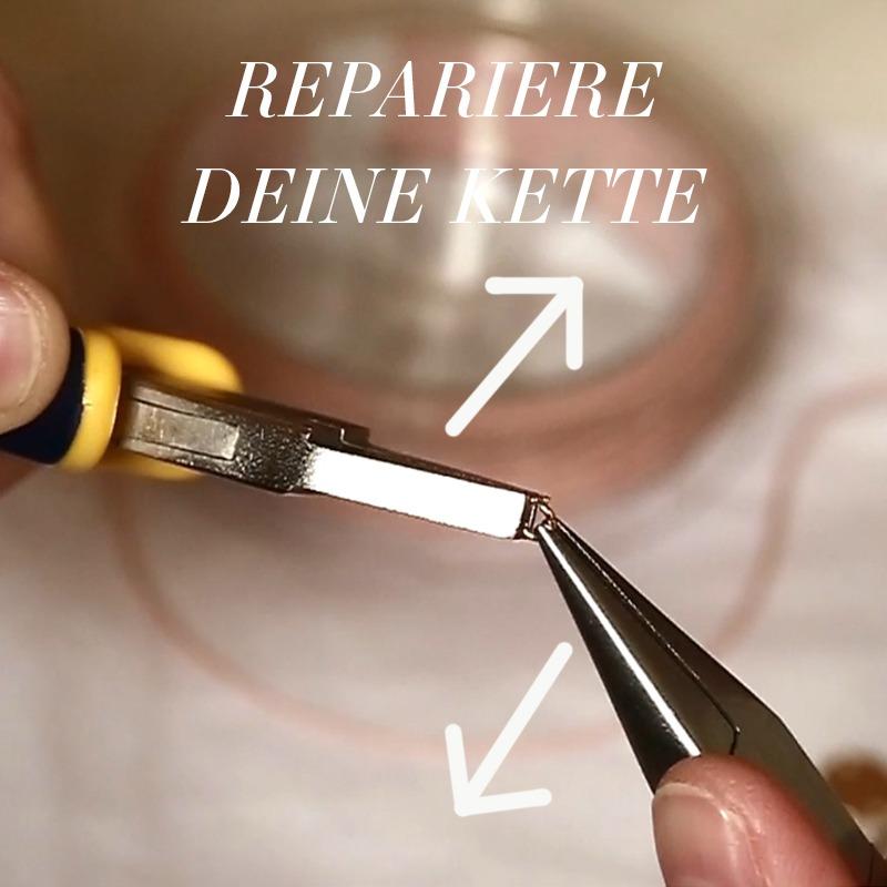Verbindungsring und Öse selbst reparieren