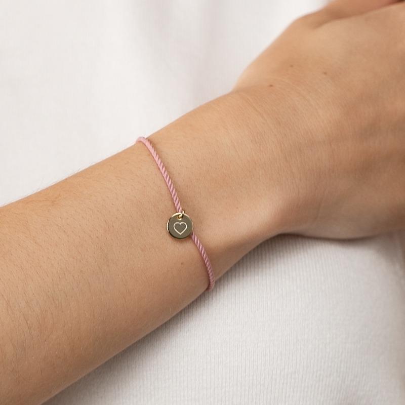 Mutter Tochter Armband gold mit Gravur