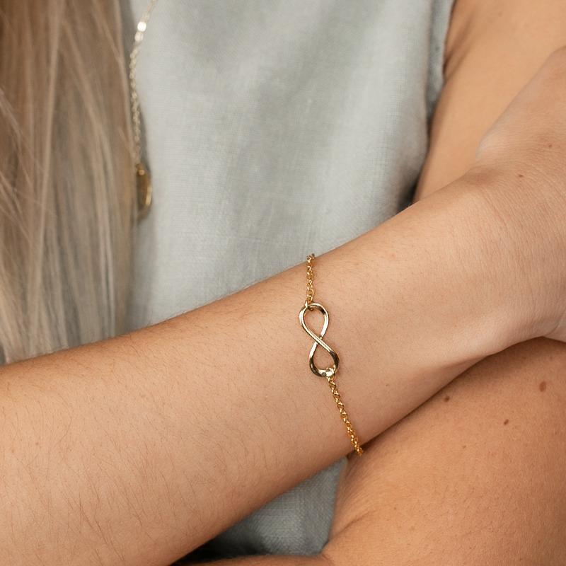 Armkette mit Infinity Symbol