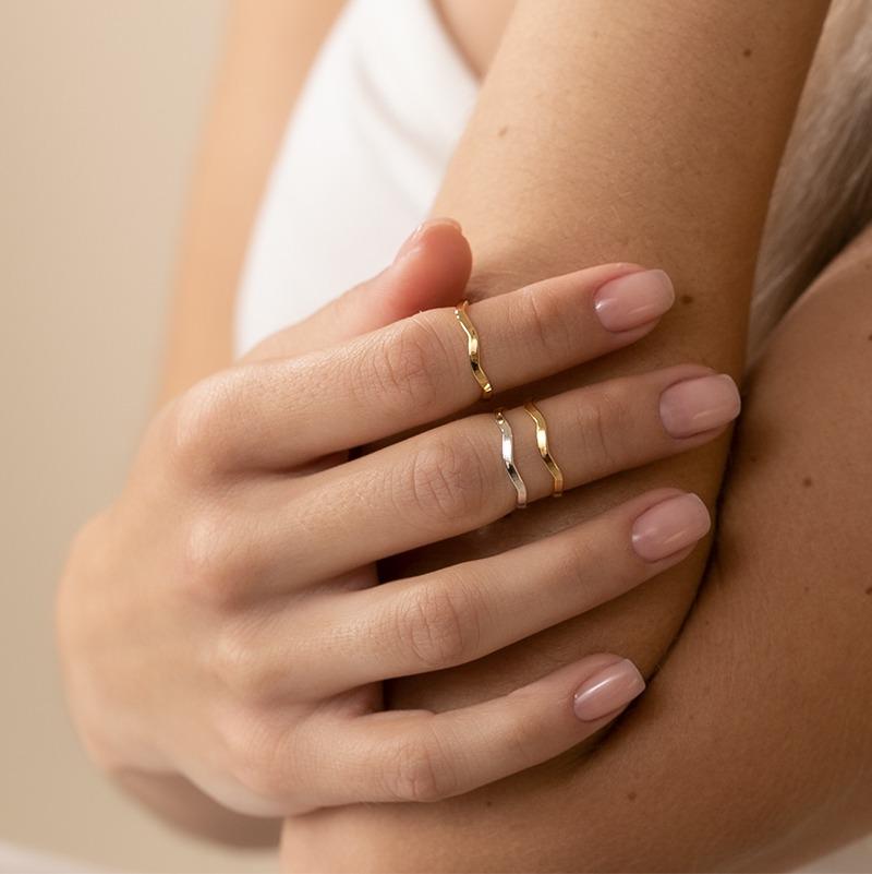 Stacking Ringe für die Finger